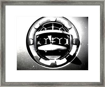 Framed Print featuring the photograph Demour by Cyryn Fyrcyd