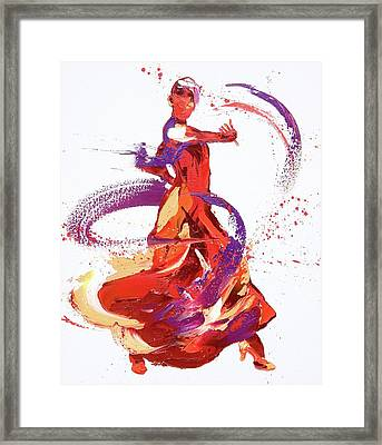 Jaunt Framed Print by Penny Warden