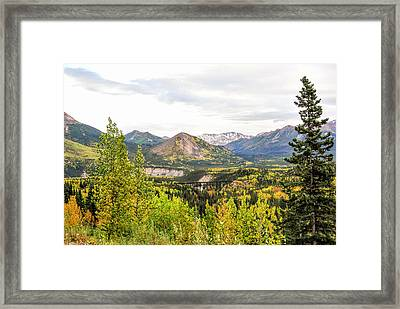 Denali National Park Landscape No 2 Framed Print