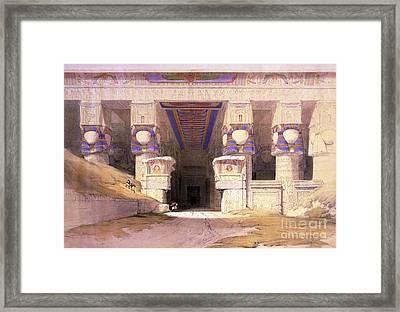 Dendera Temple Complex, 1938 Framed Print