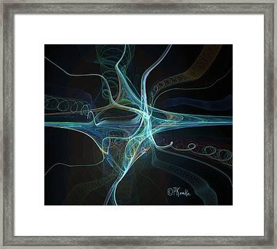 Dendrite Framed Print
