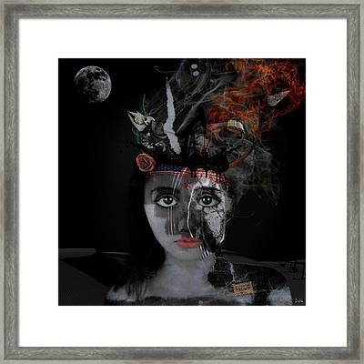 Denial's Child Framed Print by Nola Lee Kelsey