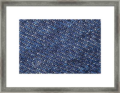 Denim 674 Framed Print