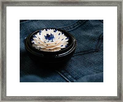Denim Framed Print