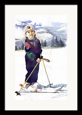 Ski Framed Prints