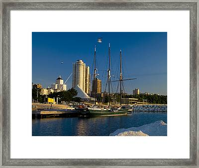 Framed Print featuring the photograph Denis Sullivan by Peter Skiba