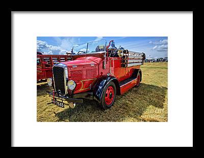 Fire Station Framed Prints