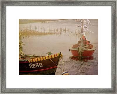 Dennisport Marsh Framed Print by JAMART Photography