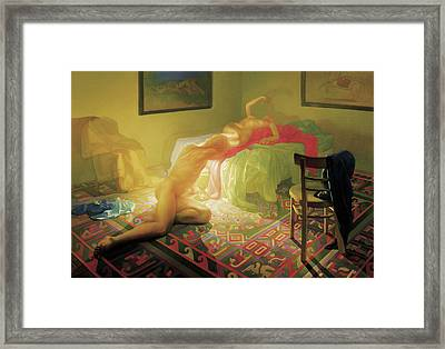 Denouement Framed Print by Michael Newberry