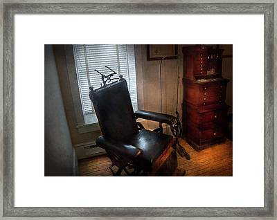 Dentist - The Country Dentist  Framed Print by Mike Savad
