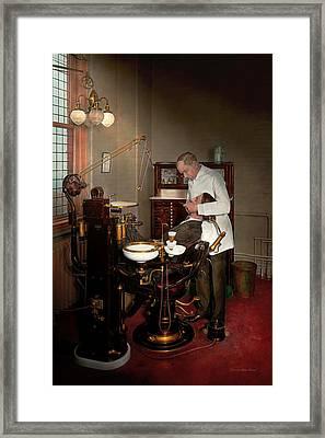 Dentist - Roy O Woodruff Dentist 1924 Framed Print by Mike Savad