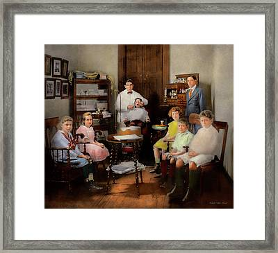 Dentist - The Family Practice 1921 Framed Print