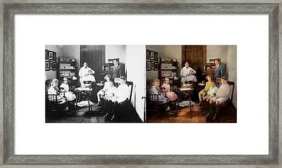 Dentist - The Family Practice 1921 - Side By Side Framed Print