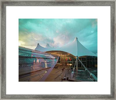 Denver International Airport Framed Print