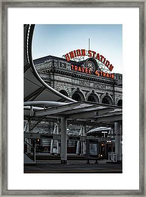 Denver 365 Framed Print
