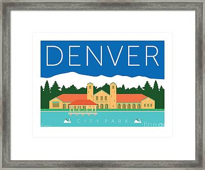 Denver City Park Framed Print