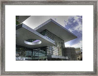 Denver Convention Center Framed Print by David Bearden