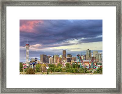 Denver Framed Print by Juli Scalzi