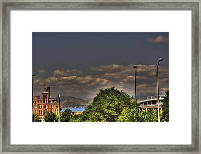 Denver Framed Print by Laurie Prentice