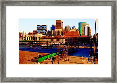 Denverscape II Framed Print