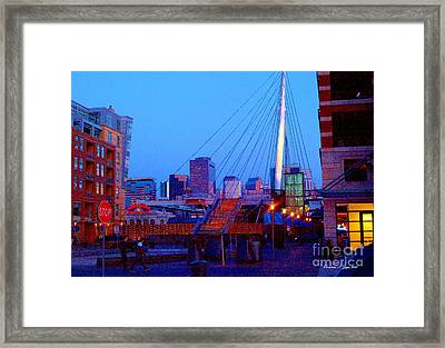 Denverscape Iv Framed Print
