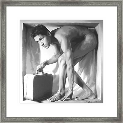 Depart Framed Print by E Gibbons
