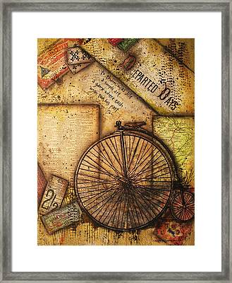 Departed Days Framed Print