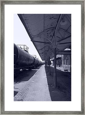 Departing Depot Framed Print by Jame Hayes