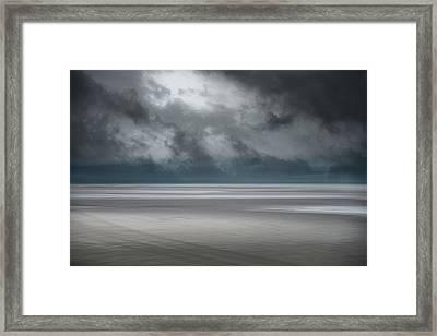 Departing Storm Framed Print