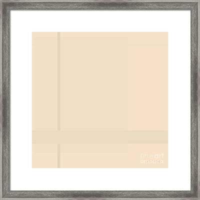 Department Framed Print
