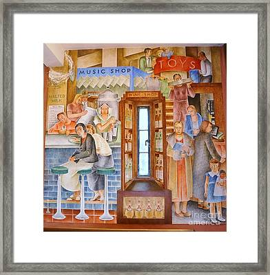 Department  Store Framed Print by Pg Reproductions