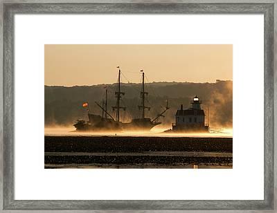 Departure Of El Galeon I Framed Print