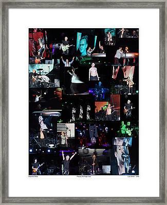 Depeche Mode Framed Print by Lisa Sweet