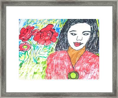 Depigmentation - Pigment Free Framed Print