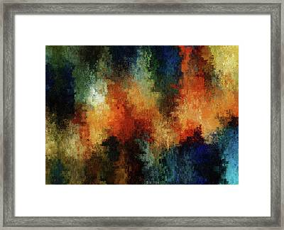 Depression Abstract  Framed Print