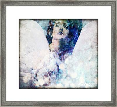 Depression Angel Framed Print
