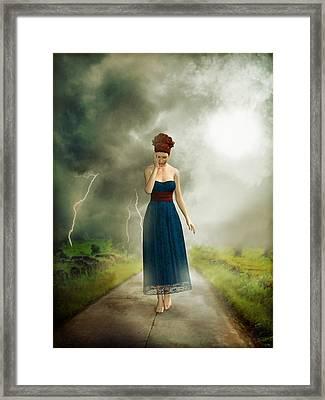 Depression Framed Print by Britta Glodde