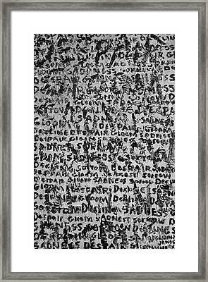Depression Framed Print by Roseanne Jones