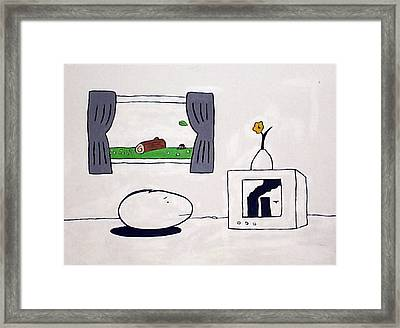 Depression Framed Print by William Douglas