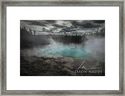 Depth Framed Print by Jason Naudi