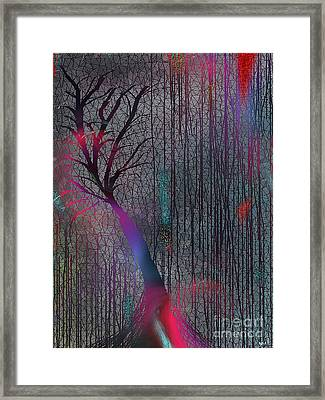 Depth Of Dreams Framed Print