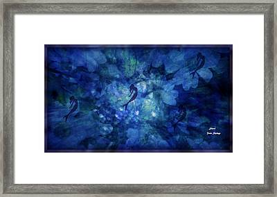 Depth Of Underwater Beauty Framed Print