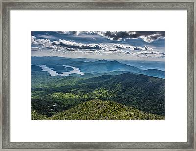 Depth View Framed Print