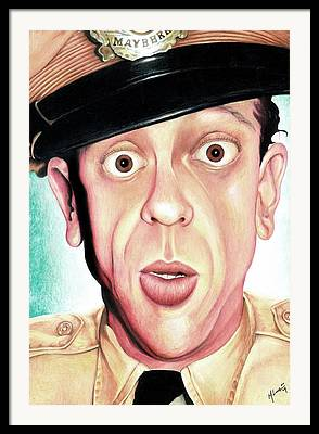 Andy Griffith Show Paintings Framed Prints