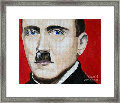 Der Fuhrer's Line Framed Print by Matthew Lake