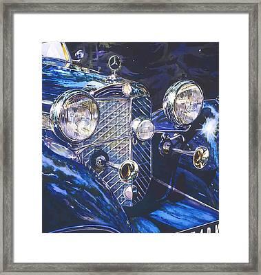 Der Wunderbar 540k Framed Print by Mike Hill