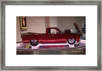Deranged Ford Ranger Drag   # Framed Print