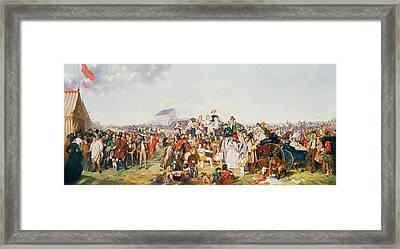 Derby Day Framed Print