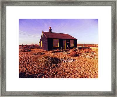Derek Jarmans House Framed Print by Rebecca  Wilbur