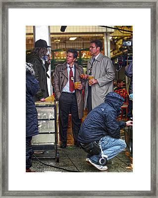 Derek Jeter Guest Stars In The Other Guys Framed Print